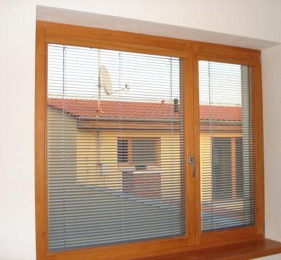 interiérové horizontální žaluzie